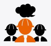 Profil design — Stockvektor