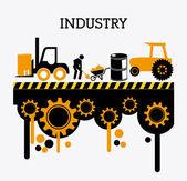 Conception de l'industrie — Vecteur