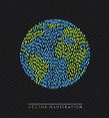 World design — Stock Vector