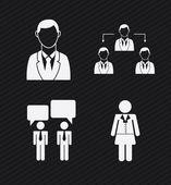 业务设计 — 图库矢量图片