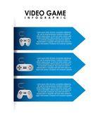 Videogame design — Stock vektor