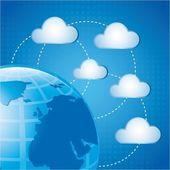 Cloud design — Stock Vector