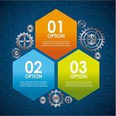 Infographic ontwerp — Stockvector