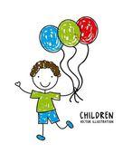 Conception d'enfants — Vecteur