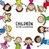 Kids design — Stock Vector