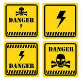 Niebezpieczeństwo — Wektor stockowy
