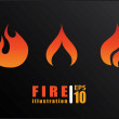 Fire design — Stock Vector #46372925