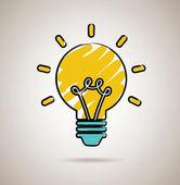 Bulb design — Stockvector