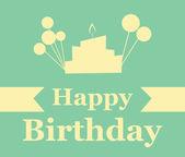 Diseño de cumpleaños — Vector de stock