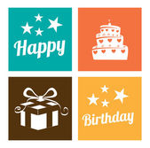 Birthday design — Stock Vector