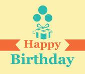 дизайн дня рождения — Cтоковый вектор