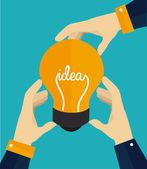 Idea diseño — Vector de stock