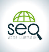 SEO design — Stock Vector