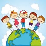 Kids design — Stock Vector #46555625