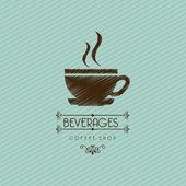 Coffeee design — Stock Vector