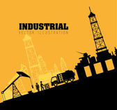 Industri design — Stockvektor