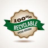 Ecologie ontwerp — Stockvector
