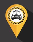 Taxi design — Stock Vector