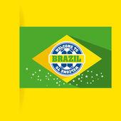 Brazil design  — Stock Vector