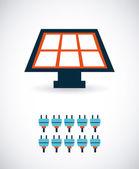 Energy design — Stock Vector