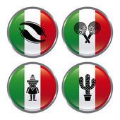 Mexico design — Stock Vector