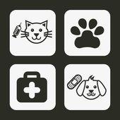 Pet design — Stock Vector