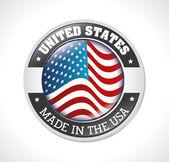 Projekt Usa — Wektor stockowy