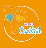 Drink design — Stock Vector