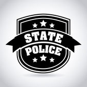 Police design — Stock Vector