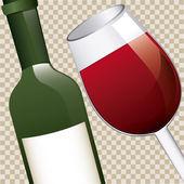 ワイン デザイン — ストックベクタ