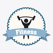 дизайн фитнеса — Cтоковый вектор