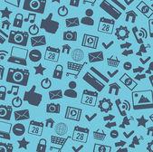 Design de mídias sociais — Vetor de Stock