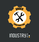 Industrie design — Stockvektor