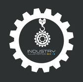 Getriebe-design — Stockvektor