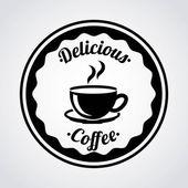 Kávu design — Stock vektor