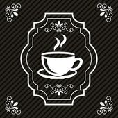 Coffee design — Stockvektor