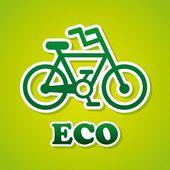 Diseño ecología — Vector de stock