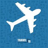 Travel design — Stock Vector