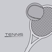 Tennis design — Stock Vector
