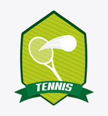 Tennis-design — Stockvektor