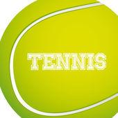 теннис дизайн — Cтоковый вектор
