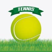 Tenis tasarım — Stok Vektör