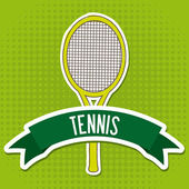 Tennis design — Stockvektor