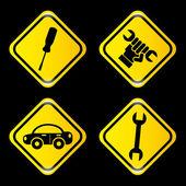 Araçları tasarım — Stok Vektör