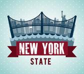 NYC design — Stock vektor
