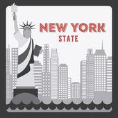 NYC design — Stock Vector
