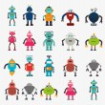 Robot design — Stock Vector #48583069