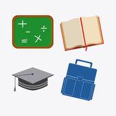 School design — Stock Vector