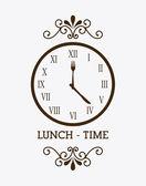 Zaman tasarımı — Stok Vektör