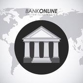 Bank design — Stock Vector